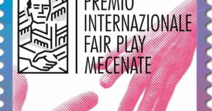 Francobollo Fair Play Mecenate: valore, tiratura, vignetta FOTO Dove si può comprare