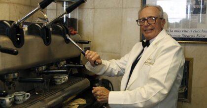E' morto Giovanni Fummo: 15 milioni di espressi, sessanta anni al Gran Caffè Gambrinus