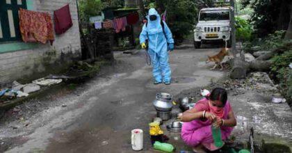 India febbre bambini