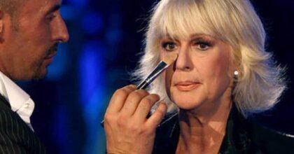 """Loretta Goggi insultata per l'esibizione ai Seat Music Awards annuncia: """"Lascio i social"""""""