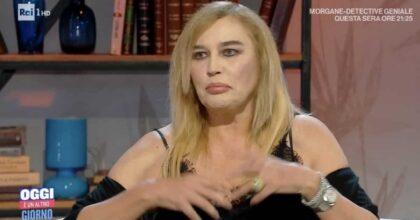 """Oggi è un altro giorno, Lory Del Santo: """"Ho avuto un uomo violento che mi ha gravemente picchiato"""""""