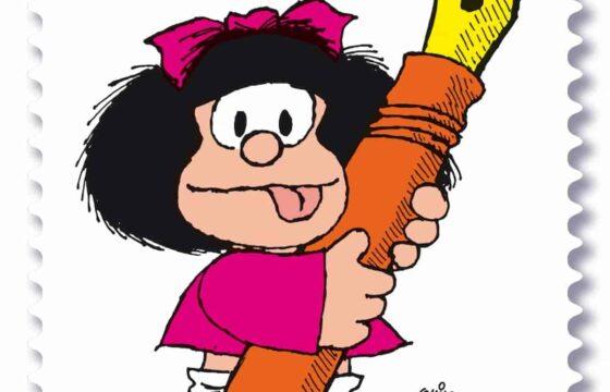 Poste Italiane francobollo Mafalda