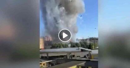 Incendio grattacielo Milano: così la Torre dei Moro è diventata una torcia in tre minuti VIDEO