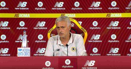 Lazio-Roma, Mourinho lascia la conferenza stampa: non ha gradito le domande da remoto VIDEO