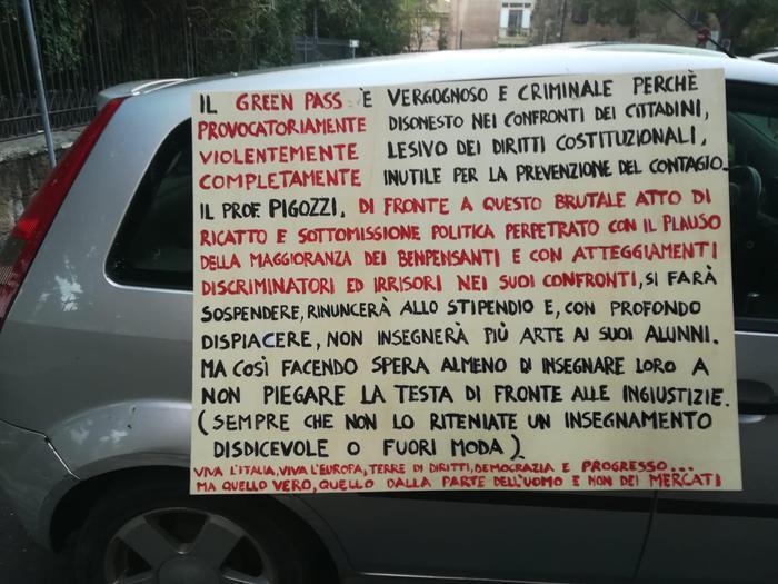 Orvieto prof green pass