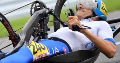 Paralimpiadi, Italia medaglia d'oro handbike a tre con Cecchetto, Mazzone e Colombari