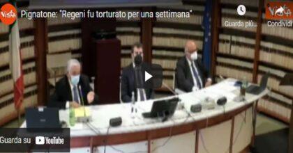 """Pignatone in audizione: """"Giulio Regeni fu torturato per una settimana"""" VIDEO"""