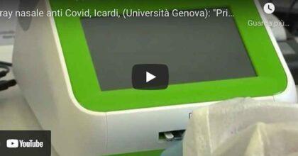 """Spray nasale anti Covid, Icardi (Università Genova): """"I primi risultati della sperimentazione sono buoni"""" VIDEO"""