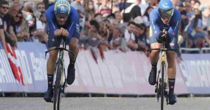 mondiali ciclismo staffetta mista