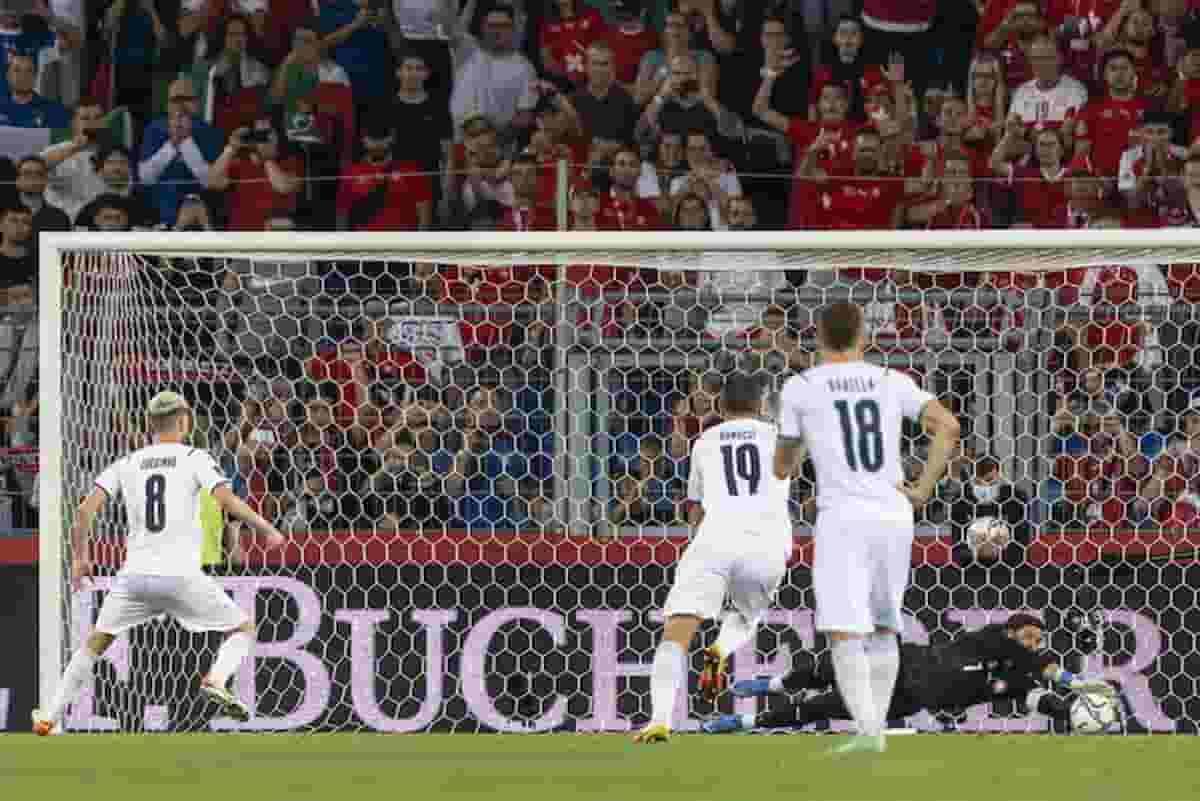 Svizzera Italia 0-0 VIDEO highlights: rigore sbagliato da Jorginho, nuovo  record imbattibilità
