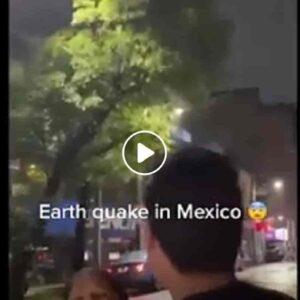 Terremoto in Messico: ad Acapulco il palazzo oscilla e la gente scappa per strada VIDEO