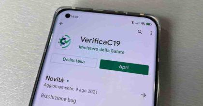 Verifica C19, guida all'utilizzo dell'applicazione su smartphone Android e iOS