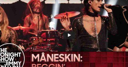 I Maneskin apriranno il concerto dei Rolling Stones a Las Vegas. L'annuncio al Tonight Show di Jimmy Fallon VIDEO