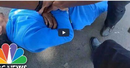 Ohio, afroamericano paraplegico trascinato fuori dall'auto dalla polizia. Il VIDEO choc