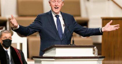 Bill Clinton ricoverato in terapia intensiva in California per un'infezione del sangue