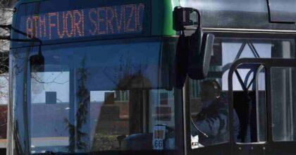 bus sciopero milano