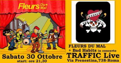 Fleurs Du Mal e Bad Habit al Traffic il 30 ottobre: a Roma si torna a suonare blues e rock
