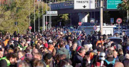Green Pass, in 5mila protestano al porto di Trieste ma pochi disagi. A Genova bloccata rampa sopraelevata