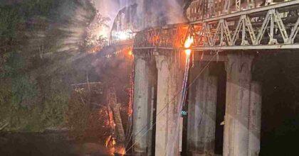 incendio ponte ferro