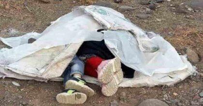 afghanistan fratelli morti fame