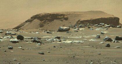 Marte: c'era un lago nel cratere in cui si cerca la vita, poi il clima ha prosciugato tutto