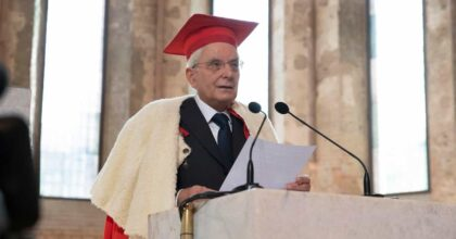Mattarella, laurea ad honorem all'Università di Parma in Relazioni internazionali VIDEO