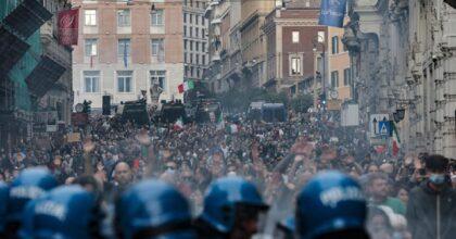 Tredici sabato No Vax, commercianti Milano non ne possono più. Embrione di una marcia dei 40 mila...Sì vax?