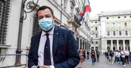"""Salvini da Draghi dopo lo strappo sulla delega fiscale. Prima vede Giorgetti: """"Incontro utile, ci vedremo ogni settimana"""""""