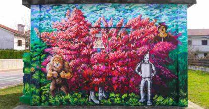Street art sulle cabine elettriche: dal 21 ottobre in onda il nuovo format di E-Distribuzione e Sky Arte
