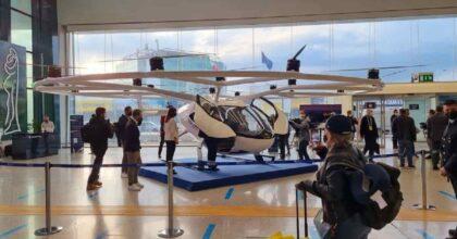 Volocity, drone taxy Fiumicino-Roma: elettrico, un passeggero, 150 euro. Poi volerà senza pilota